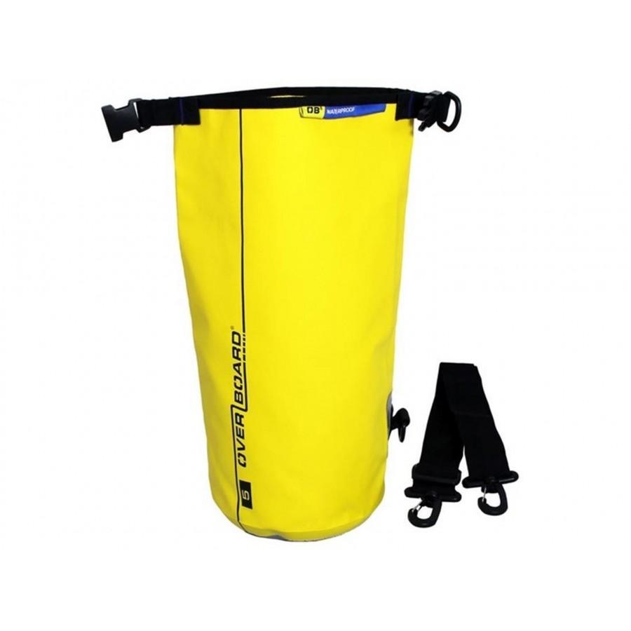 overboard dry tube bag 5 liter yellow surf shop online. Black Bedroom Furniture Sets. Home Design Ideas
