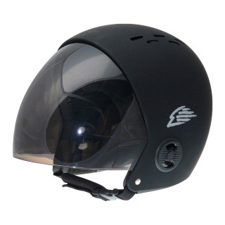 GATH Wassersport Helm Retractable Visor S Black