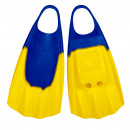 Bodyboard Flossen WAVE GRIPPER ML 43-44  Blau Gelb