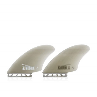 FUTURES Fins Twin Set Channel Island Keel Fibergla