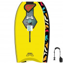 FLOOD Bodyboard Dynamx Stringer 37 Gelb Tribal