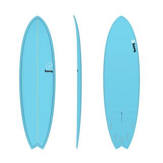 Torq Surfboard Epoxy Tet 6.6 Fish Full Fade C